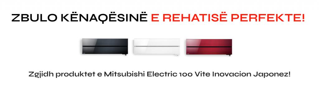 Kondicioner MITSUBISHI ELECTRIC, A+++ NE FTOHJE A+++ NE NGROHJE, EKONOMIK, INVERTER, i kuq, i zi, i bardhe, elegant